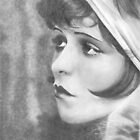 Clara Bow by Karen Townsend