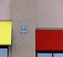 Lamp, Awnings, and Windows by hastypudding