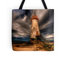 Abandoned Lighthouse Tote Bag