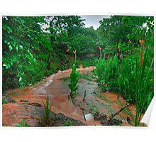 Rusty Rock Hollow Creek Poster