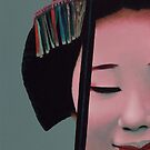 Maiko - Acrylic Painting by Scott Simpson