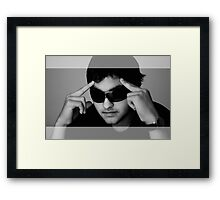In Thinking  Framed Print