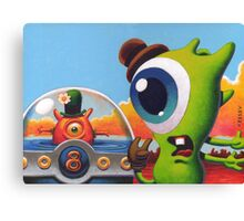 Summer Bubble Canvas Print