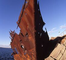 """The Wreck Of The """"Adolphe"""", Newcastle, Australia 2008 by muz2142"""