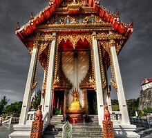 The ThaI Temple by Adrian Evans