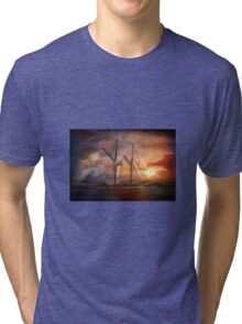 Singing sails...... Tri-blend T-Shirt