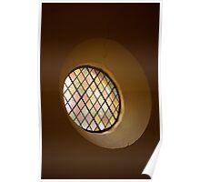 Round Window Poster