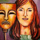 Pam Self portrait by Pamela Plante