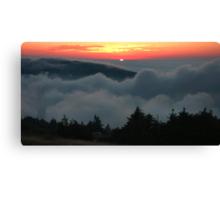 Cadillac Mountain Sunset - Acadia Canvas Print