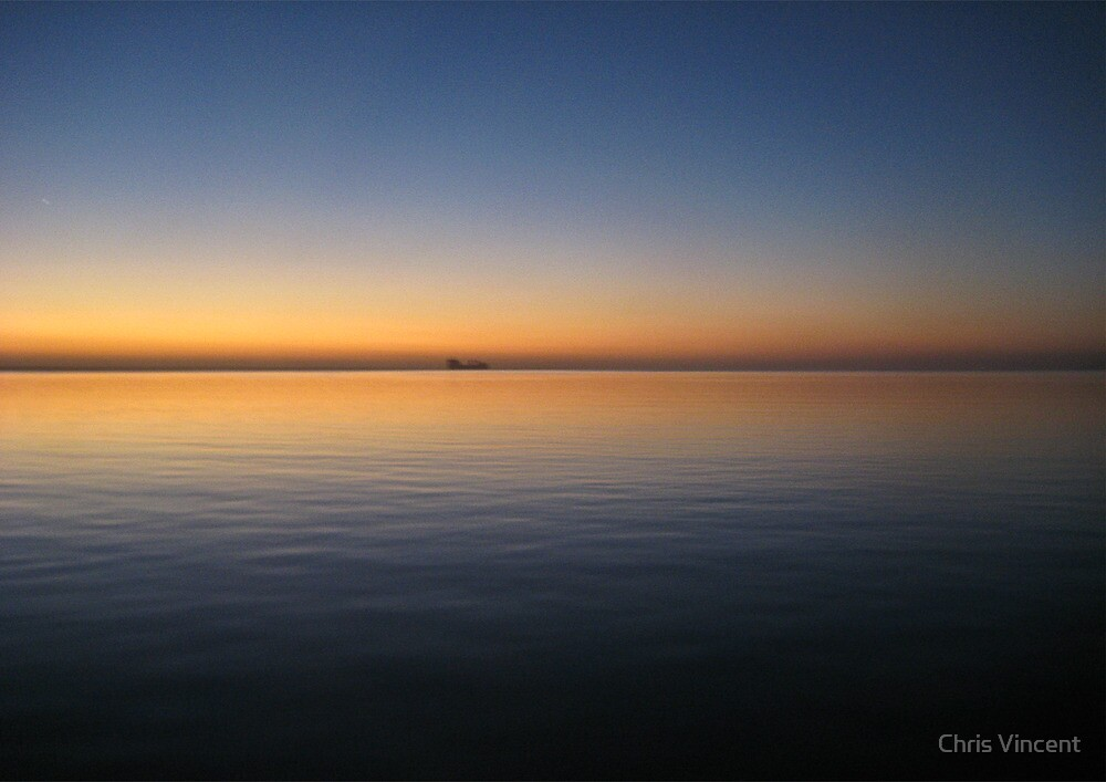 Red Sea Dawn by Chris Vincent