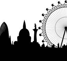London skyline by AleCampa