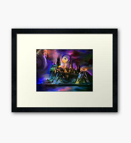 The Magic castle. Framed Print