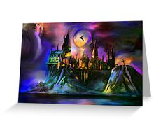 The Magic castle. Greeting Card