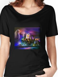 The Magic castle. Women's Relaxed Fit T-Shirt