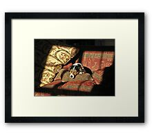 And Relax Framed Print