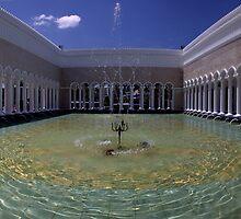 Sultan Omar ali Saiffuddien Mosque Brunei by Ian Smith