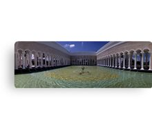 Sultan Omar ali Saiffuddien Mosque Brunei Canvas Print