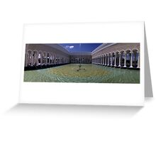 Sultan Omar ali Saiffuddien Mosque Brunei Greeting Card