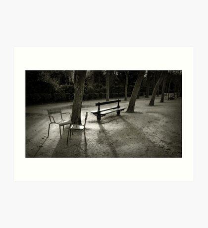 Jardin du Luxembourg Art Print