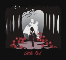 Little Red Riding Hood  by fishcakefillet