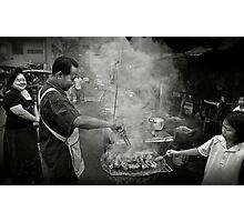 Barbecue Photographic Print