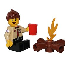LEGO UK Scout Leader by Fire by jenni460