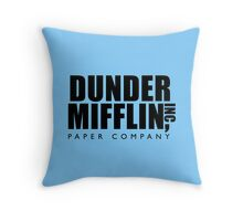Dunder Mifflin Inc. Throw Pillow