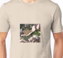 PALE PINK HELLEBORUS Unisex T-Shirt