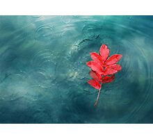Fire and water Photographic Print
