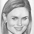 Emily Deschanel by Karen Townsend