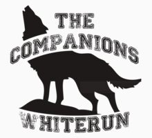 The companions of whiterun - Black Kids Tee