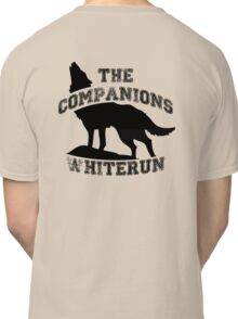 The companions of whiterun - Black Classic T-Shirt