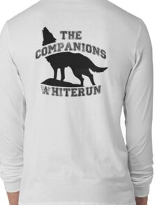 The companions of whiterun - Black Long Sleeve T-Shirt