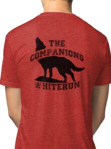 The companions of whiterun - Black Tri-blend T-Shirt