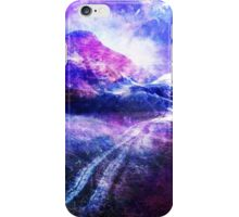 Abstract Mountain Landscape iPhone Case/Skin