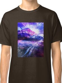 Abstract Mountain Landscape Classic T-Shirt