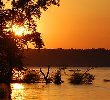Summer Sunsets - Berlin Lake, Ohio by Wendy King