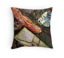 Bricks & Vine Throw Pillow