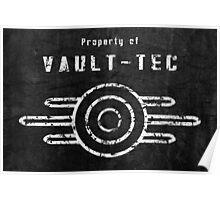 Vault-Tec (White) Poster