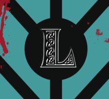 Lagertha's shield Sticker
