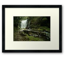 Guide Falls Ridgley Framed Print