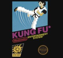 KUNG FU NES Box cover V 2.0 by ruter