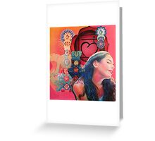 Chakra Root Greeting Card