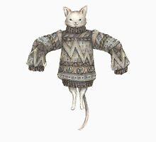 Sweater Puss T-Shirt Womens Fitted T-Shirt
