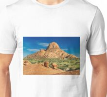 Spitzkoppe  mountain landscape of granite rocks Unisex T-Shirt