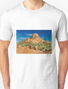 Spitzkoppe  mountain landscape of granite rocks T-Shirt