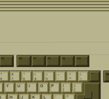 Amiga Pixel keyboard Sticker