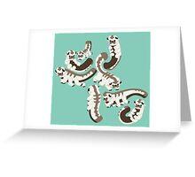 Bison Parade Greeting Card