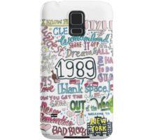 1989- Taylor Swift Samsung Galaxy Case/Skin
