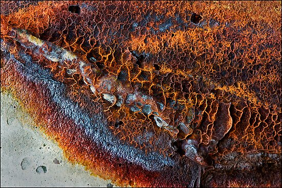 Rust Abstract-674 by Albert Sulzer